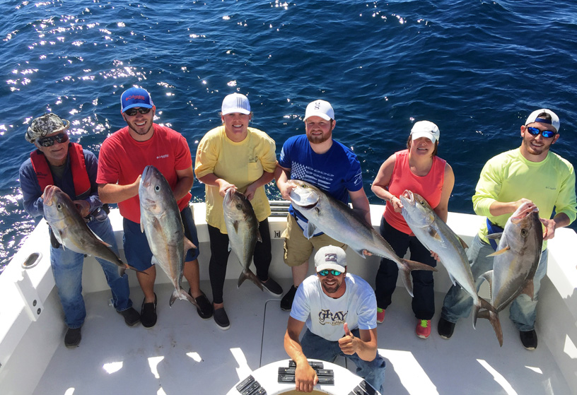 Destin Fishing Charters on the Sea Winder!