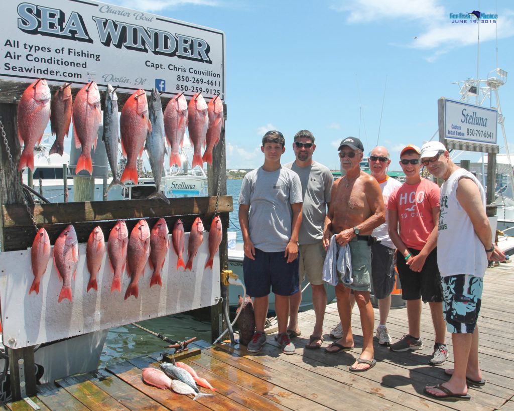 Sea Winder Red Snapper Season