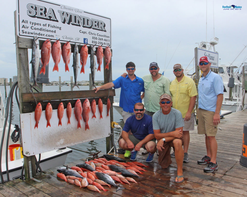 Destin, Florida Bottom Fishing
