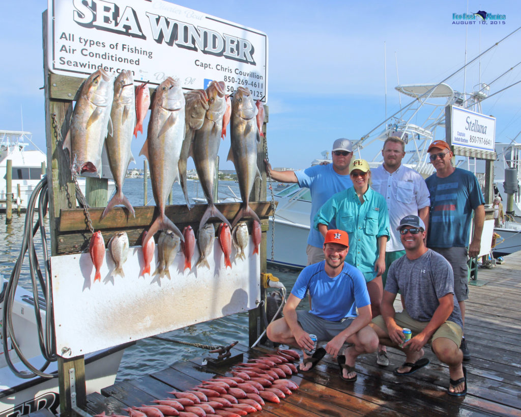 Big Amberjacks in Destin, FL