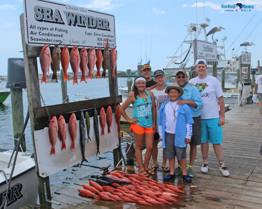 Sea Winder Red Snapper Fishing - Destin, FL