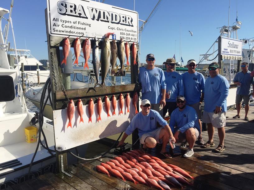 Destin fl fishing trips charter boat sea winder for Destin florida fishing trips