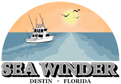 Charter Boat Sea Winder Logo